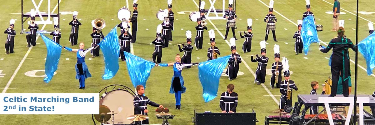 Providence Catholic Marching Celtics – 2nd in State!