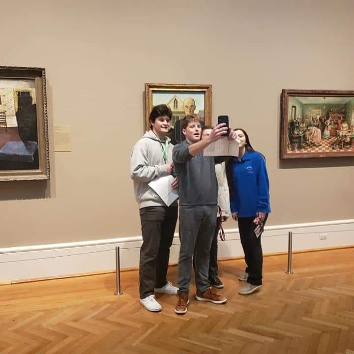 Spanish+AP+Class+Trip+to+Art+Institute