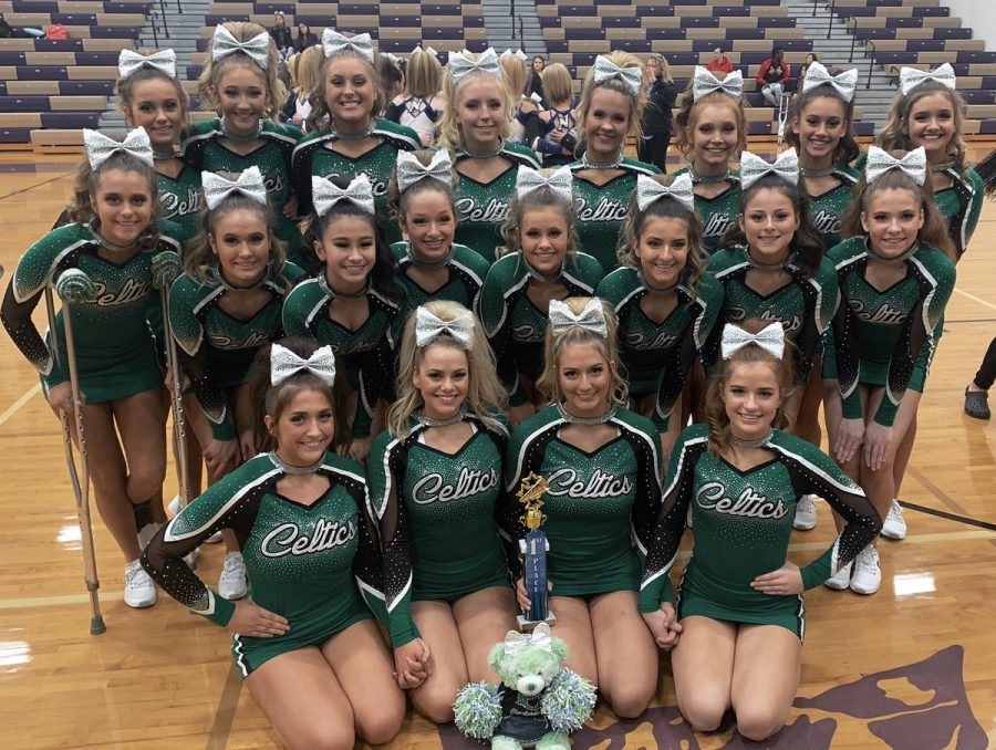 Cheer+Captures+1st+Place