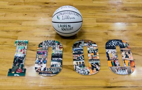 Lauren Knight Scores 1,000th Point as a Providence Catholic Celtic