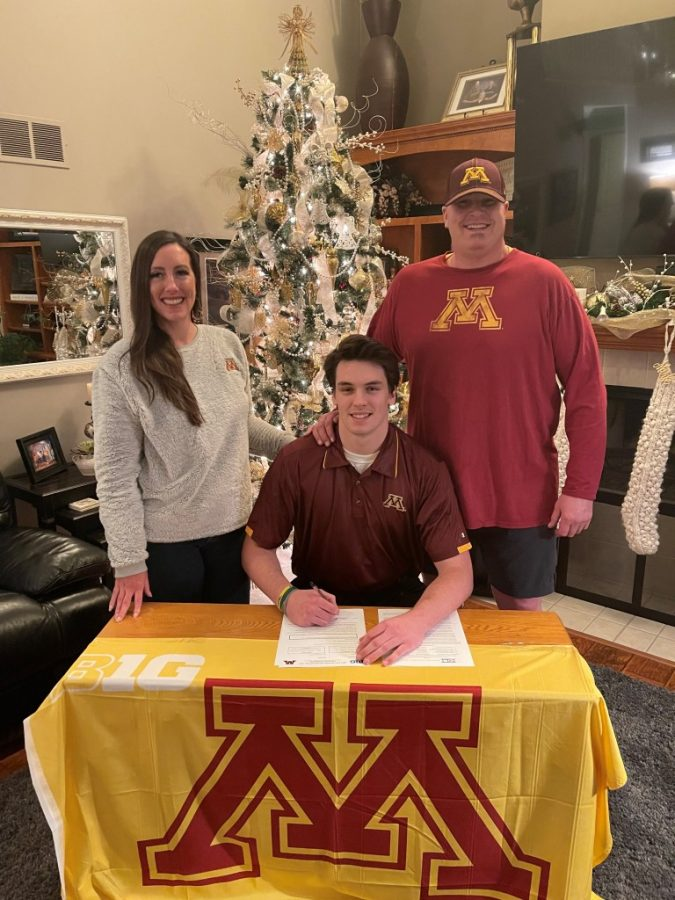 Jameson Geers Signs with University of Minnesota