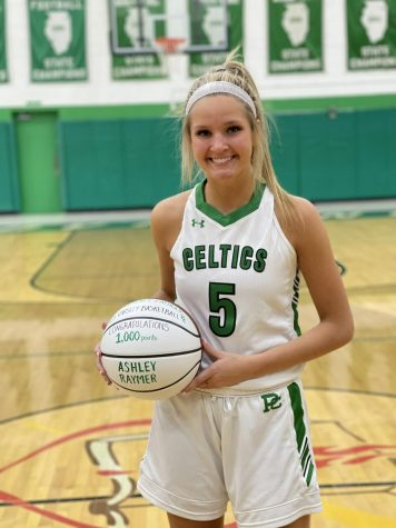 Raymer scores 1,000th point