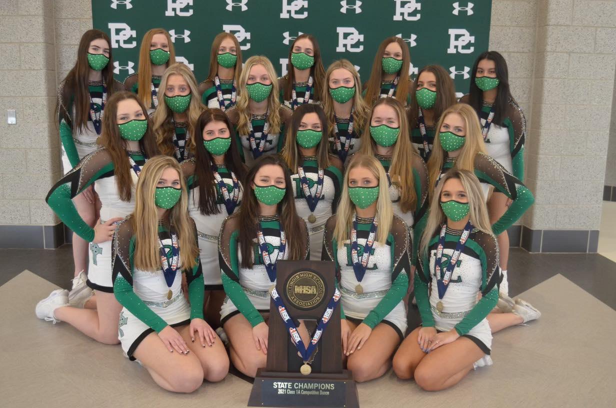 Dancing Celtics Win State