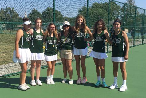 JV Tennis Strong Start